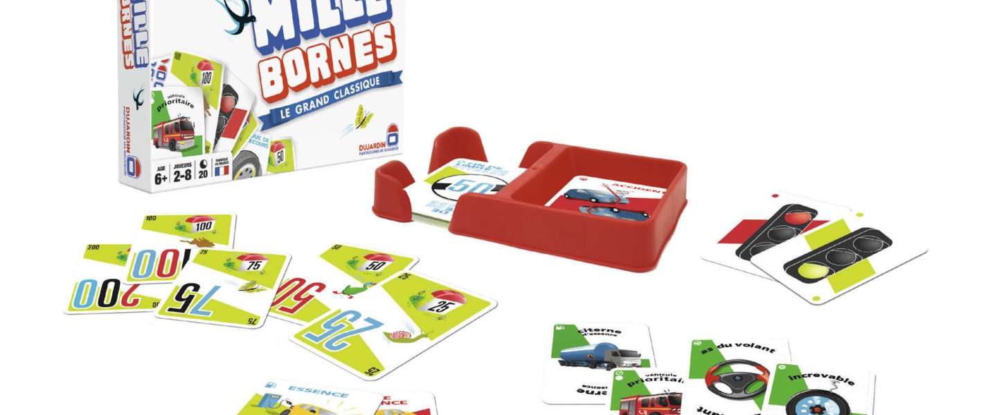 mille bornes mille bornes un jeu de edmond dujardin jeu de soci t tric trac. Black Bedroom Furniture Sets. Home Design Ideas