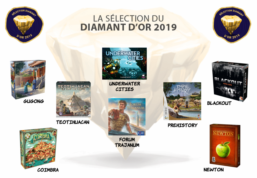 Sélection Diamant d'or 2019