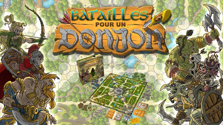 Batailles Pour Un Donjon : Timelapse 2 joueurs
