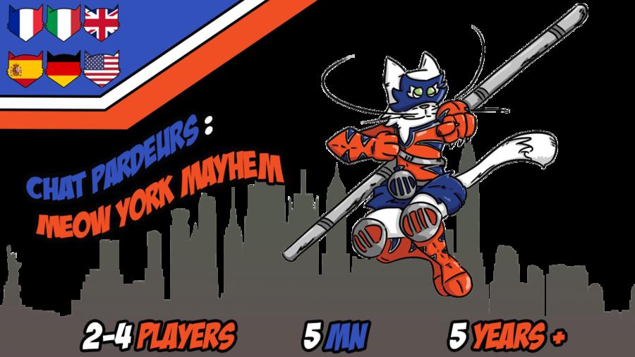 Chat pardeurs : Meow York Mayhem