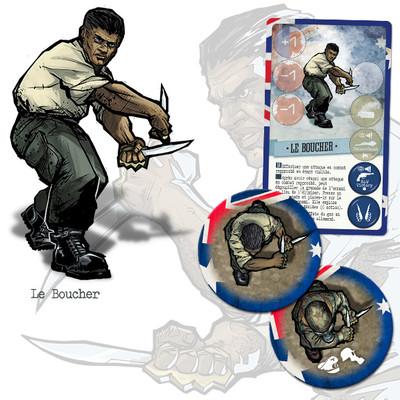 V-Commandos : Secret Weapons - Le boucher