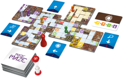 Magic Maze : It's a Maze-Ing !