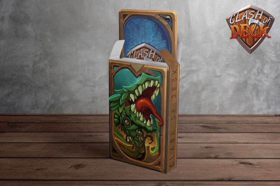 Clash of Deck : un vrai jeu de cartes évolutif GRATUIT bientôt sur Kickstarter !