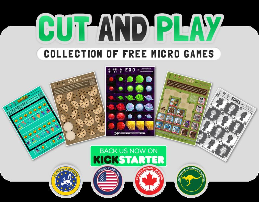 [Cut and Play ] La fin du Kickstarter approche !