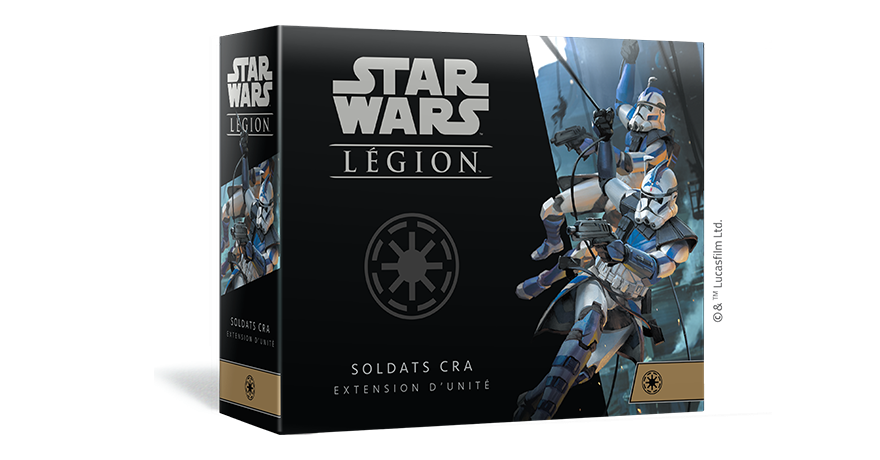 Star Wars Legion : Soldats CRA