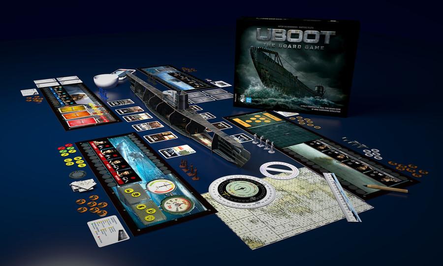 UBOOT : l'immersion c'est pour bientôt sur Kickstarter