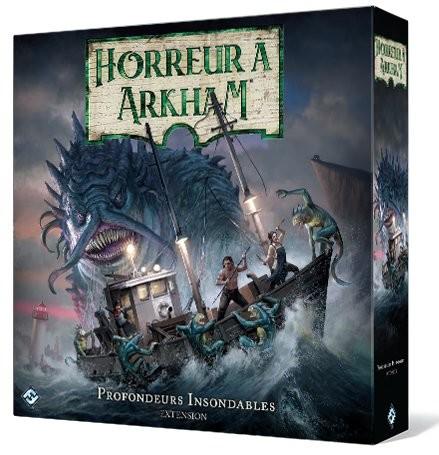 Horreur à Arkham V3 - ext. Profondeurs Insondables