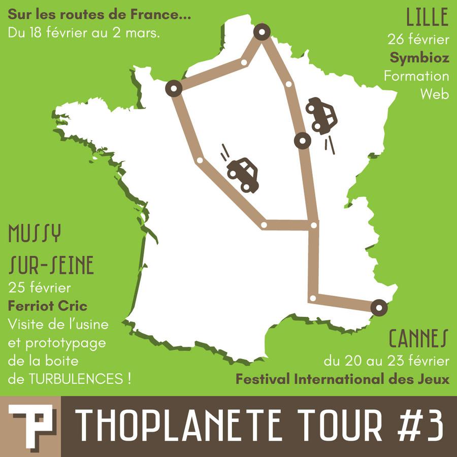THOPLANETE TOUR #3