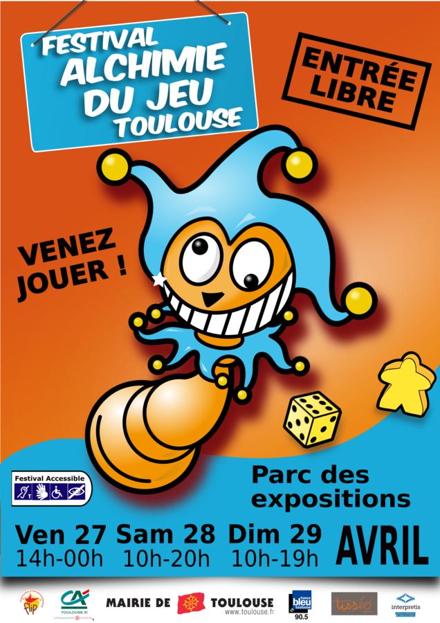 La 17ême édition du Festival du jeu de Toulouse arrive !