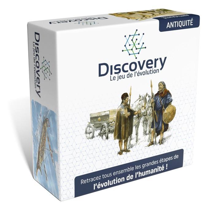 Discovery : les nouvelles versions Antiquité et Préhistoire sont arrivées !