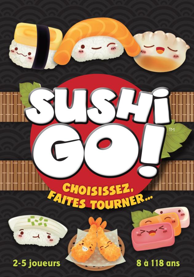 Sushi Go! en approche, le sushi a le vent en poulpe