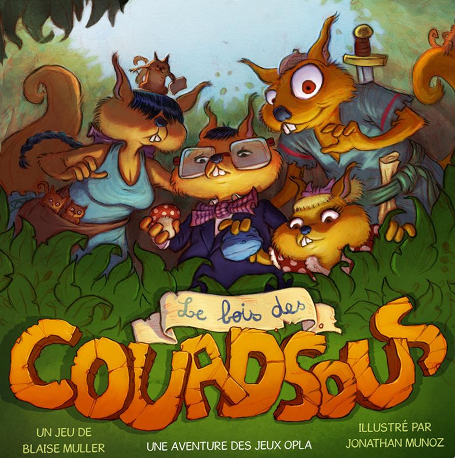 Le Bois des Couadsous, vous allez avoir l'air bête
