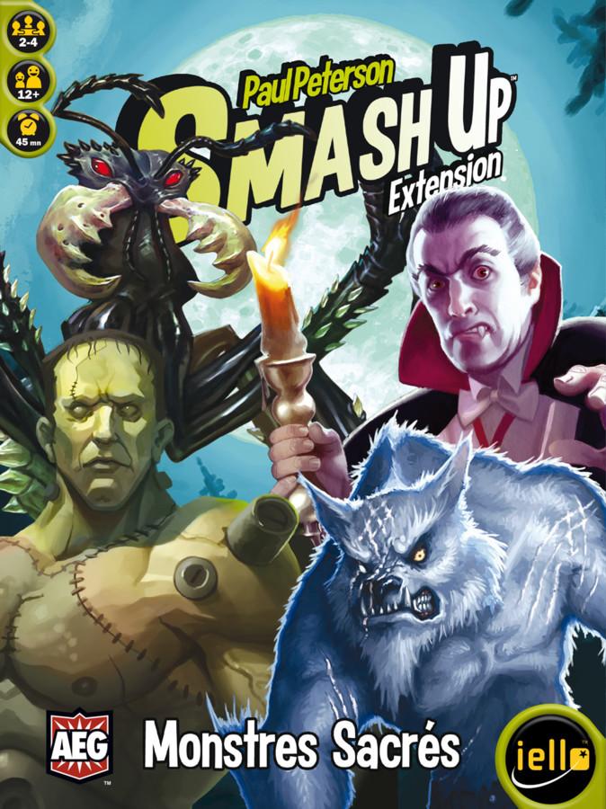 Smash Up, de sacrés monstres, des geeks et des taloches