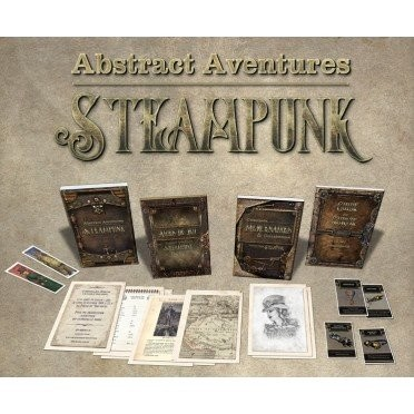 Abstract -Aventures Steampunk