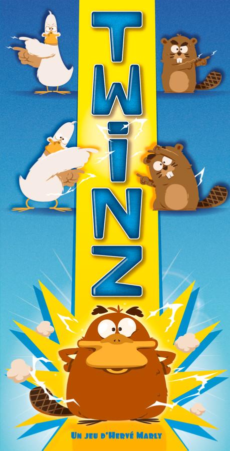 Twinz, un jeu Cocktail Cowboys signé Hervé Marly.