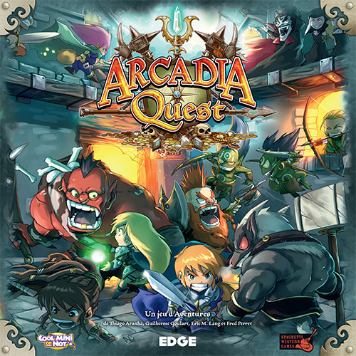 Libérez la cité d'Arcadia !