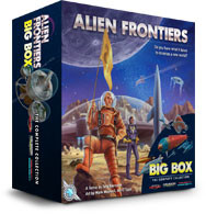 Alien Frontiers Big Box in der Spieleschmiede