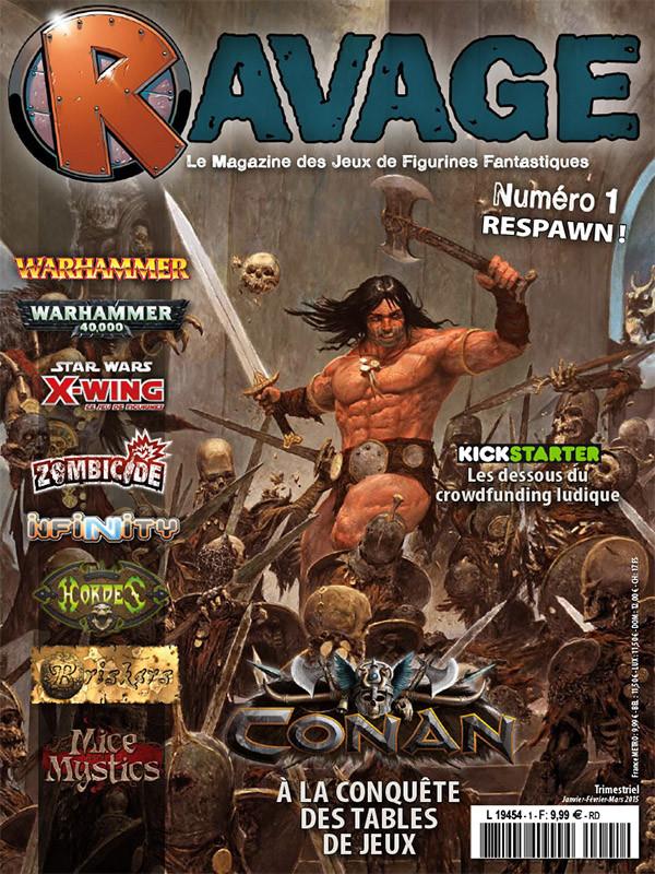Ravage magazine dispo en PDF !