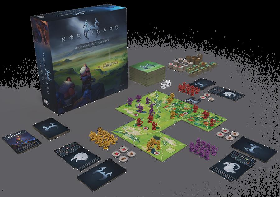 23 juillet - Lancement officiel de la campagne Kickstarter de Northgard: Uncharted Lands