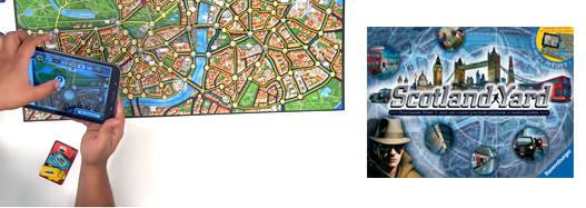 Scotland Yard, de la partie