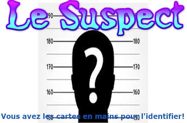 Prototype du jeu Le Suspect