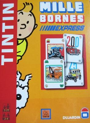 1000 bornes express edition tintin. Black Bedroom Furniture Sets. Home Design Ideas