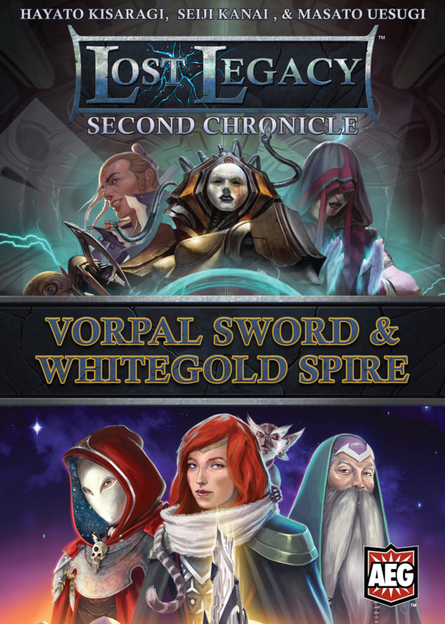 Lost Legacy: Second Chronicle – Vorpal Sword & Whitegold Spire