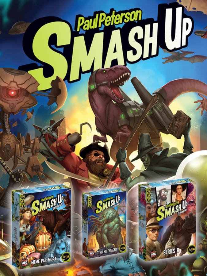 exploration ludique : smash up + les extensions