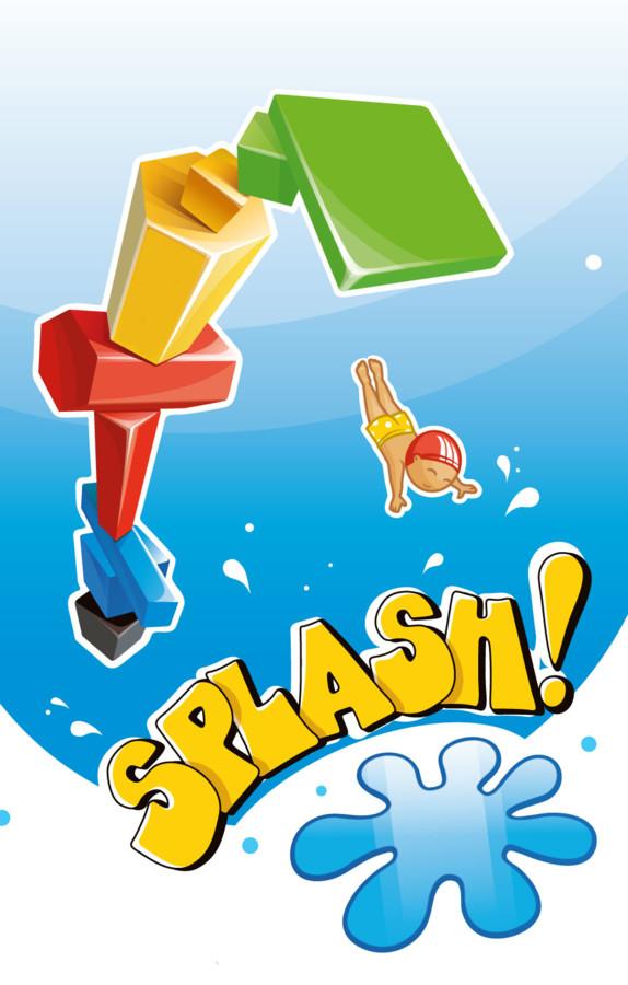 Splash ! Empilage et branlage à la piscine