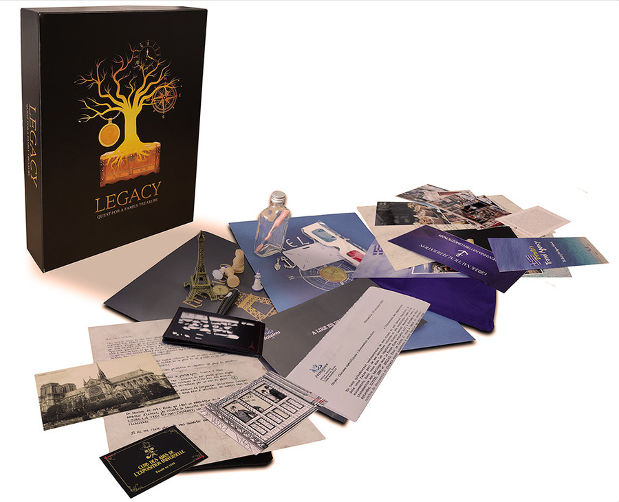 LEGACY : Quest for a Family Treasure