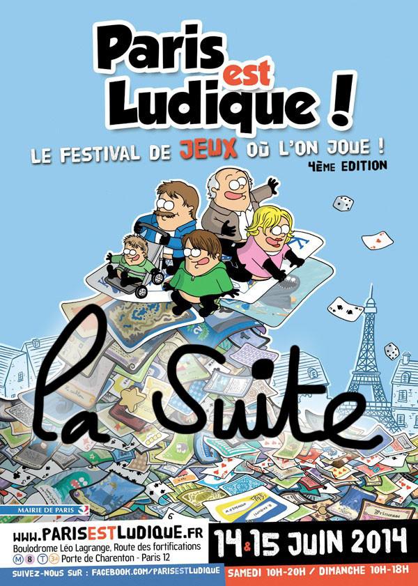 Paris est Ludique 2014 : seconde partie, le Pel ça roule !