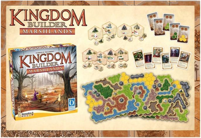Kingdom Builder und die dritte Erweiterung