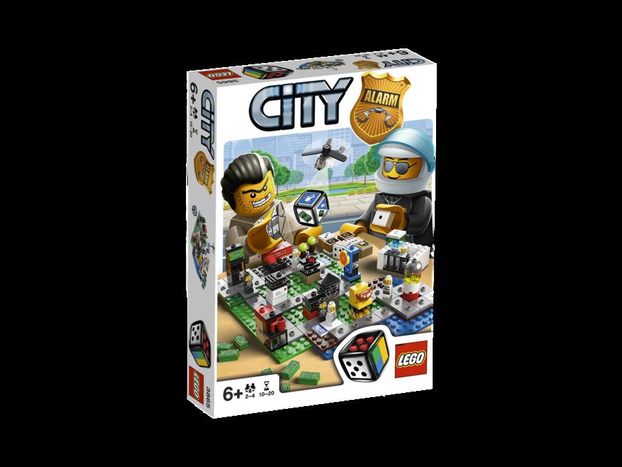 Lego City Alarm (3865)