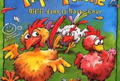 Mlle Molmo vous demande de voter la poule, la plume sinon ... colère !