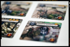 Une photo des cartes de Guilds of cadwallon