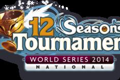 12 seasons tournament national logo