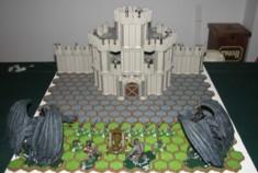Lord Of The Ring le jeu de fig à collectionner : Le Nazgul sur bête ailée