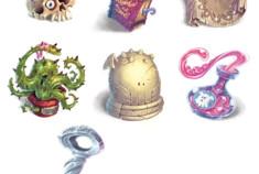 La nuit du Grand Poulpe: tokens