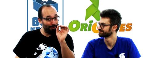 La Boîte de Jeu - Origames : ze cross-over, de le papotache !