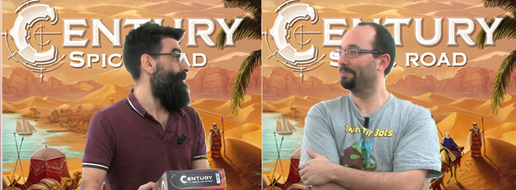 Century : La Route Des Epices, de la partie à 2 joueurs !
