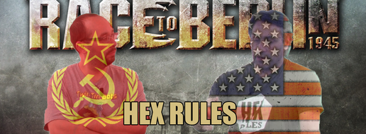 Race To Berlin, Hex Rules #17