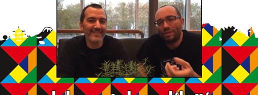 Essen Spiele 2018, de le papotache avec Vincent Dutrait et Antoine Bauza