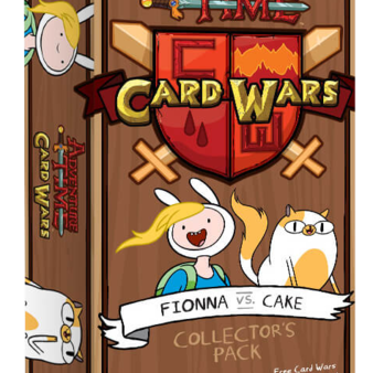 Adventure Time Card Wars : Fionna VS Cake