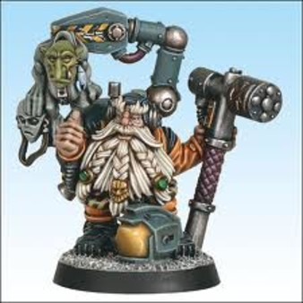 Warhammer : Grombrindal le nain blanc (cosmonaute)