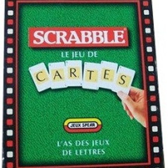 scrabble le jeu de cartes photos vid os 2 jeu de soci t tric trac. Black Bedroom Furniture Sets. Home Design Ideas