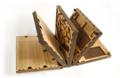 Codex Silenda: Puzzlebuch aus Holz