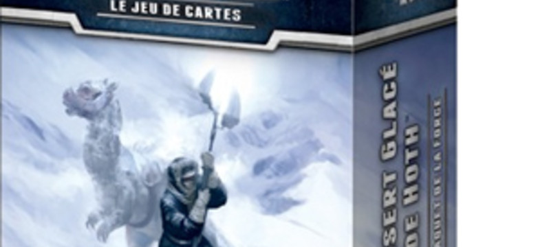 Le Désert Glacé de Hoth sur les étals