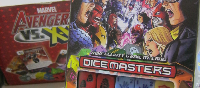 Test Dice Masters : Avengers VS X-men