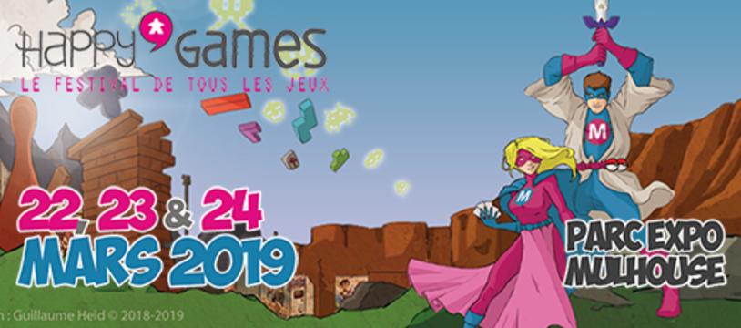 6ème édition du festival Happy'Games