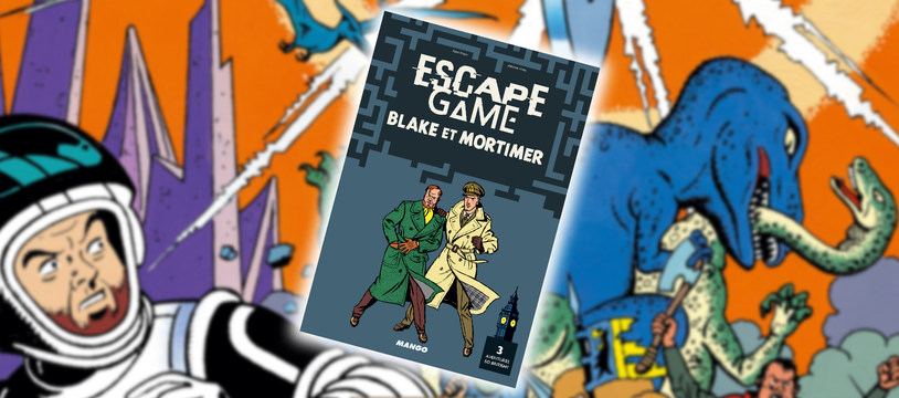 Escape Game Blake et Mortimer : Heavens, I'm traped !